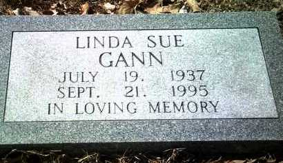 GANN, LINDA SUE - Jackson County, Arkansas | LINDA SUE GANN - Arkansas Gravestone Photos
