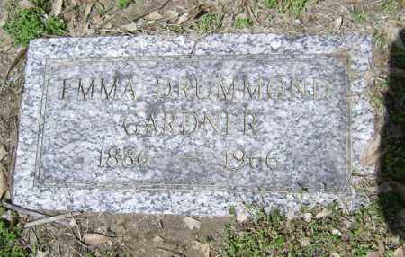 DRUMMOND GARDNER, EMMA - Jackson County, Arkansas | EMMA DRUMMOND GARDNER - Arkansas Gravestone Photos