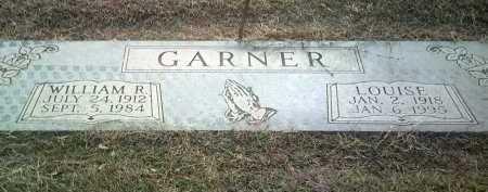 GARNER, WILLIAM R - Jackson County, Arkansas | WILLIAM R GARNER - Arkansas Gravestone Photos