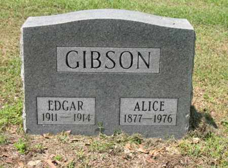 GIBSON, EDGAR - Jackson County, Arkansas | EDGAR GIBSON - Arkansas Gravestone Photos