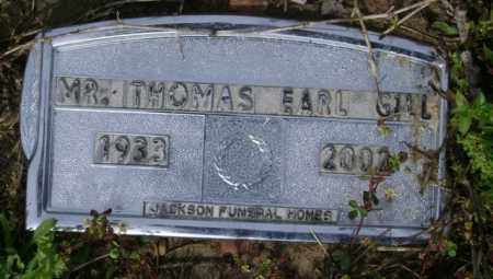 GILL, THOMAS EARL - Jackson County, Arkansas | THOMAS EARL GILL - Arkansas Gravestone Photos