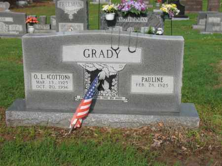 "GRADY, O L ""COTTON"" - Jackson County, Arkansas 