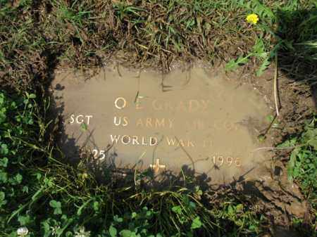 "GRADY (VETERAN WWII), O L ""COTTON"" - Jackson County, Arkansas 