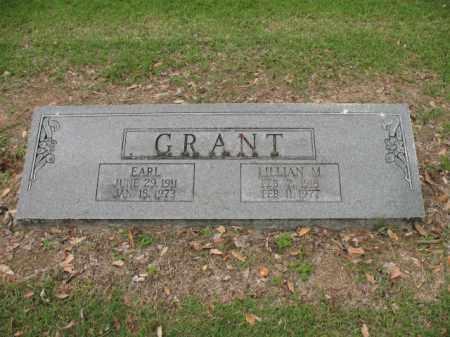 GRANT, EARL - Jackson County, Arkansas | EARL GRANT - Arkansas Gravestone Photos