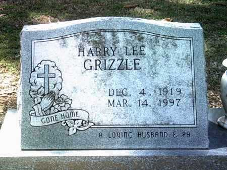 GRIZZLE, HARRY LEE - Jackson County, Arkansas | HARRY LEE GRIZZLE - Arkansas Gravestone Photos