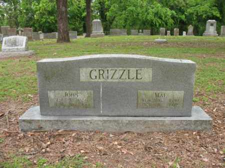 GRIZZLE, MAE - Jackson County, Arkansas | MAE GRIZZLE - Arkansas Gravestone Photos