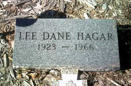 HAGAR, LEE DANE - Jackson County, Arkansas | LEE DANE HAGAR - Arkansas Gravestone Photos