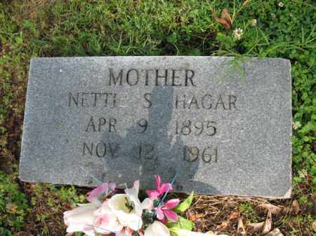 HAGAR, NETTIE S - Jackson County, Arkansas | NETTIE S HAGAR - Arkansas Gravestone Photos