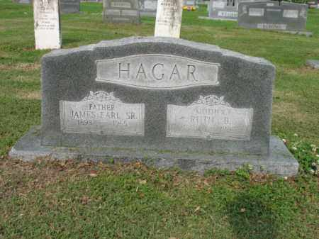 HAGAR, SR, JAMES EARL - Jackson County, Arkansas | JAMES EARL HAGAR, SR - Arkansas Gravestone Photos