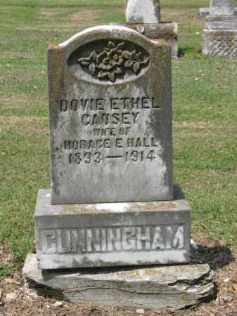 CAUSEY HALL, DOVIE ETHEL - Jackson County, Arkansas | DOVIE ETHEL CAUSEY HALL - Arkansas Gravestone Photos