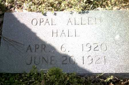 HALL, OPAL ALLEN - Jackson County, Arkansas | OPAL ALLEN HALL - Arkansas Gravestone Photos