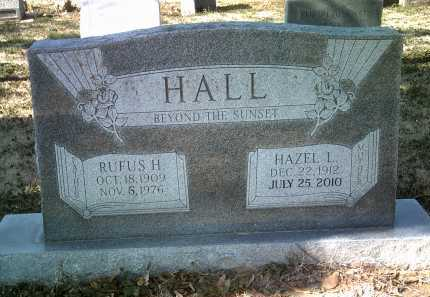 HALL, RUFUS H - Jackson County, Arkansas | RUFUS H HALL - Arkansas Gravestone Photos