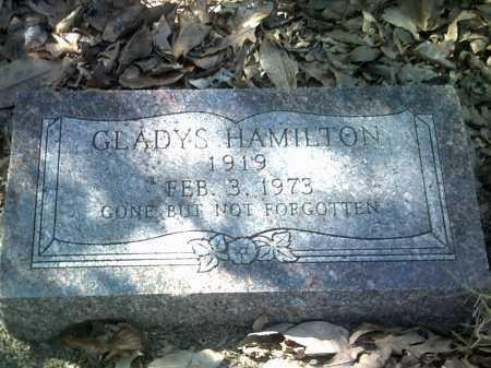 HAMILTON, GLADYS - Jackson County, Arkansas | GLADYS HAMILTON - Arkansas Gravestone Photos