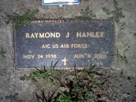 HANLEY (VETERAN), RAYMOND J - Jackson County, Arkansas | RAYMOND J HANLEY (VETERAN) - Arkansas Gravestone Photos