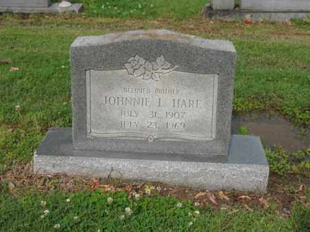 HARE, JOHNNIE L - Jackson County, Arkansas | JOHNNIE L HARE - Arkansas Gravestone Photos