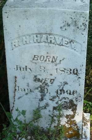 HARVEY, R H - Jackson County, Arkansas | R H HARVEY - Arkansas Gravestone Photos