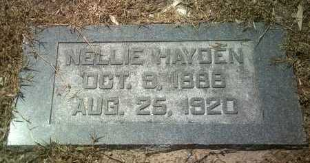 HAYDEN, NELLIE - Jackson County, Arkansas | NELLIE HAYDEN - Arkansas Gravestone Photos