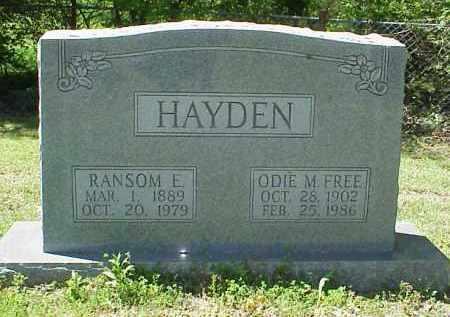 HAYDEN, ODIE MAE - Jackson County, Arkansas | ODIE MAE HAYDEN - Arkansas Gravestone Photos