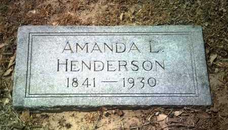 HENDERSON, AMANDA L - Jackson County, Arkansas | AMANDA L HENDERSON - Arkansas Gravestone Photos