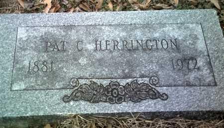 HERRINGTON, PAT C - Jackson County, Arkansas | PAT C HERRINGTON - Arkansas Gravestone Photos