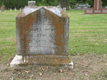 HEWITT, SAMUEL - Jackson County, Arkansas | SAMUEL HEWITT - Arkansas Gravestone Photos
