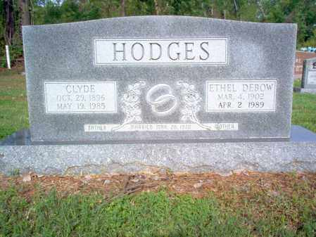 DEBOW HODGES, ETHEL MAE - Jackson County, Arkansas | ETHEL MAE DEBOW HODGES - Arkansas Gravestone Photos