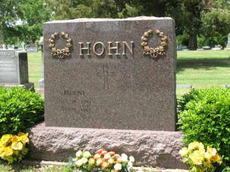 HOHN, BLOUNT - Jackson County, Arkansas | BLOUNT HOHN - Arkansas Gravestone Photos