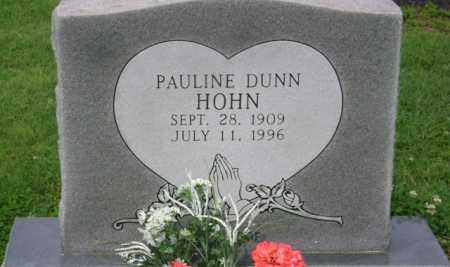 HOHN, PAULINE - Jackson County, Arkansas | PAULINE HOHN - Arkansas Gravestone Photos