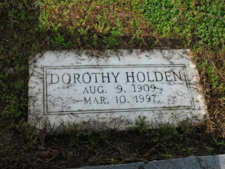 HOLDEN, DOROTHY - Jackson County, Arkansas | DOROTHY HOLDEN - Arkansas Gravestone Photos
