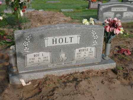 HOLT, ROY LEE - Jackson County, Arkansas | ROY LEE HOLT - Arkansas Gravestone Photos