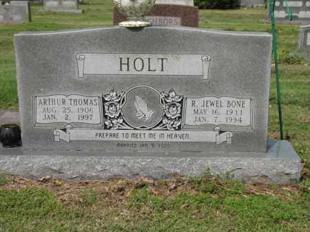 HOLT, R JEWEL - Jackson County, Arkansas | R JEWEL HOLT - Arkansas Gravestone Photos