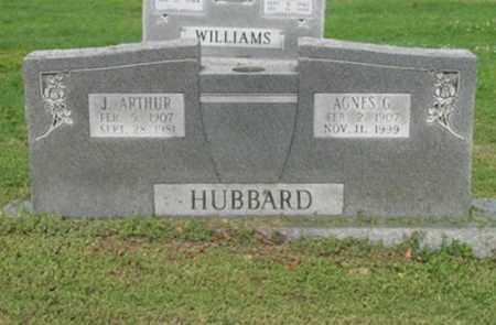 HUBBARD, AGNES G - Jackson County, Arkansas | AGNES G HUBBARD - Arkansas Gravestone Photos