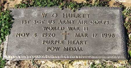 HULETT  (VETERAN WWII, POW), W O - Jackson County, Arkansas | W O HULETT  (VETERAN WWII, POW) - Arkansas Gravestone Photos
