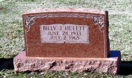 HULETT, BILLY J - Jackson County, Arkansas | BILLY J HULETT - Arkansas Gravestone Photos