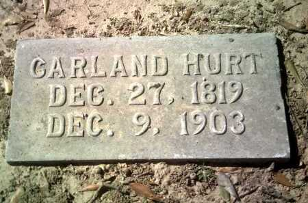 HURT, GARLAND - Jackson County, Arkansas | GARLAND HURT - Arkansas Gravestone Photos