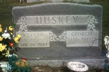 HUSKEY, WILLARD LEE - Jackson County, Arkansas | WILLARD LEE HUSKEY - Arkansas Gravestone Photos