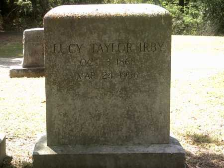 TAYLOR IRBY, LUCY - Jackson County, Arkansas | LUCY TAYLOR IRBY - Arkansas Gravestone Photos