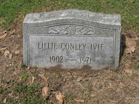 CONLEY IVIE, LILLIE - Jackson County, Arkansas | LILLIE CONLEY IVIE - Arkansas Gravestone Photos