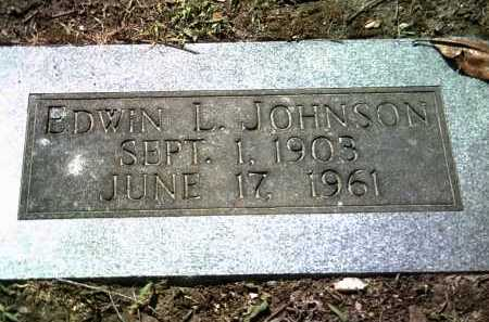 JOHNSON, EDWIN L - Jackson County, Arkansas | EDWIN L JOHNSON - Arkansas Gravestone Photos
