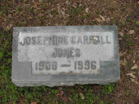 CARROLL JONES, JOSEPHINE - Jackson County, Arkansas | JOSEPHINE CARROLL JONES - Arkansas Gravestone Photos