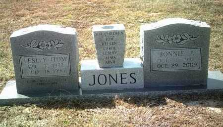 "JONES, LESLEY ""TOM"" - Jackson County, Arkansas 