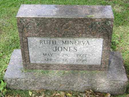 JONES, RUTH MINERVA - Jackson County, Arkansas | RUTH MINERVA JONES - Arkansas Gravestone Photos