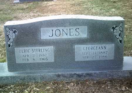 JONES, GEORGEANN - Jackson County, Arkansas | GEORGEANN JONES - Arkansas Gravestone Photos