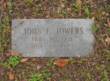 JOWERS, JOHN F - Jackson County, Arkansas | JOHN F JOWERS - Arkansas Gravestone Photos