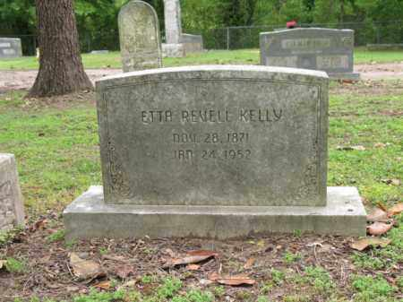 REVELL KELLY, ETTA - Jackson County, Arkansas | ETTA REVELL KELLY - Arkansas Gravestone Photos