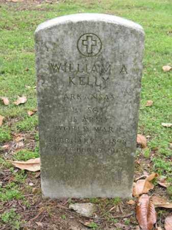KELLY (VETERAN WWI), WILLIAM A - Jackson County, Arkansas | WILLIAM A KELLY (VETERAN WWI) - Arkansas Gravestone Photos