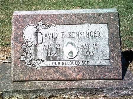 KENSINGER, DAVID F - Jackson County, Arkansas | DAVID F KENSINGER - Arkansas Gravestone Photos
