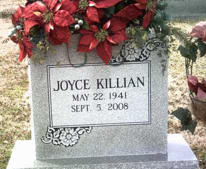KILLIAN, JOYCE G - Jackson County, Arkansas | JOYCE G KILLIAN - Arkansas Gravestone Photos