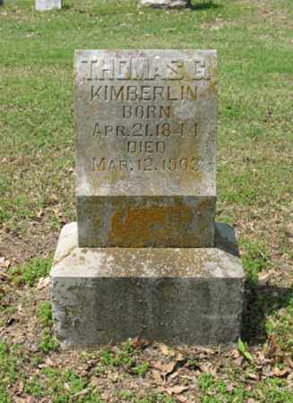KIMBERLIN, THOMAS G - Jackson County, Arkansas | THOMAS G KIMBERLIN - Arkansas Gravestone Photos