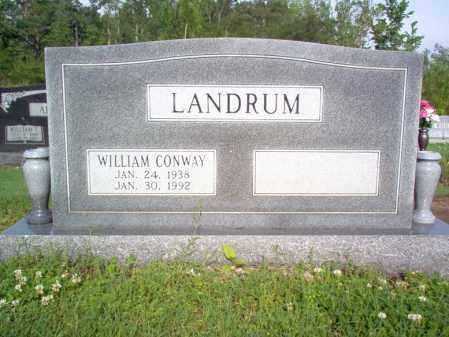 LANDRUM, WILLIAM CONWAY - Jackson County, Arkansas | WILLIAM CONWAY LANDRUM - Arkansas Gravestone Photos